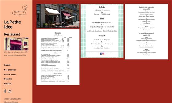 Restaurant La Petite Idee Restaurant A Grenoble 38